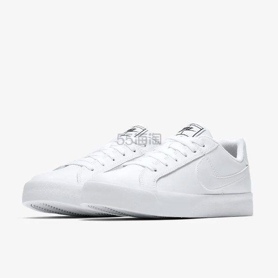 Nike 耐克 Court Royale AC 女子百搭小白鞋 ¥269.4 - 海淘优惠海淘折扣|55海淘网