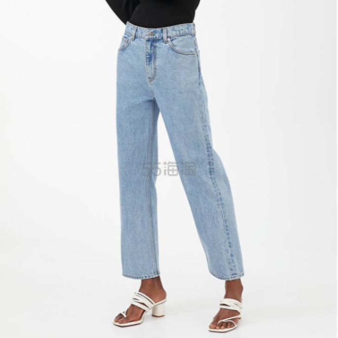 ARKET 直筒牛仔裤 (约550元) - 海淘优惠海淘折扣|55海淘网
