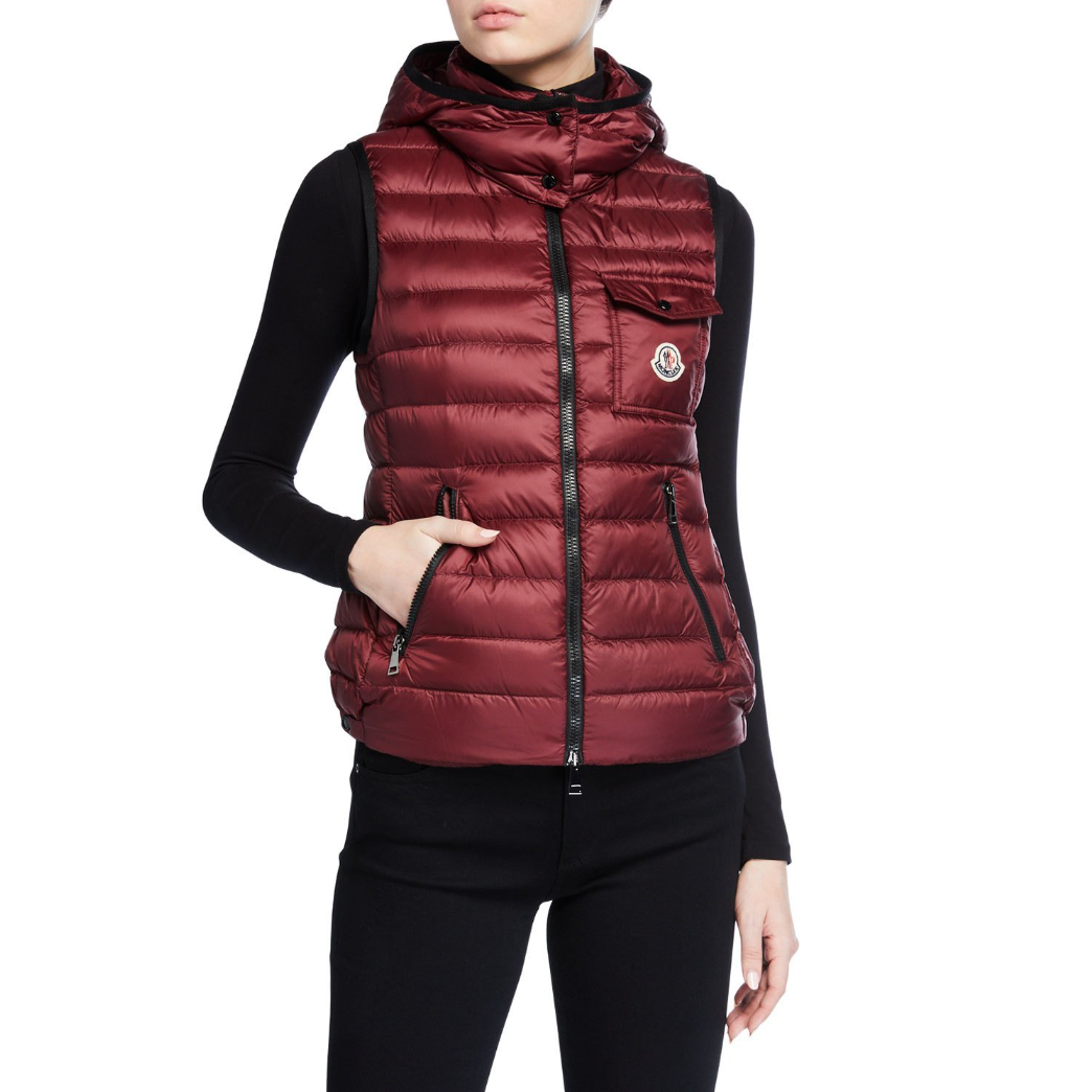 Moncler Glycine Detachable-Hood 羽绒背心