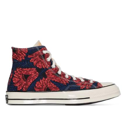CONVERSE Multicoloured floral CT70 高帮板鞋