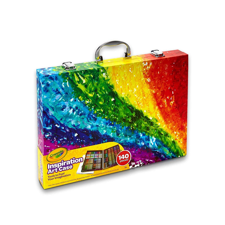 Crayola 绘儿乐 艺术灵感画笔绘画140件套装