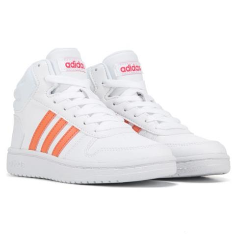 adidas 阿迪 Hoops 2 High Top 大童款高帮板鞋
