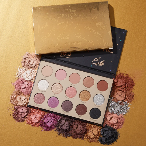 ColourPop X 迪士尼眼影盘 it's a princess thing