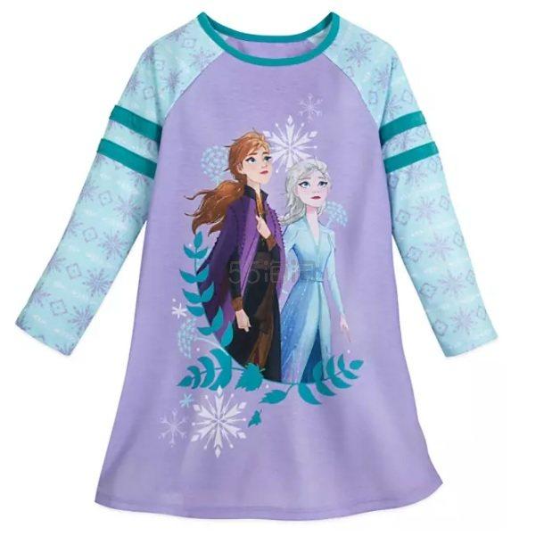 Disney 迪士尼 冰雪奇缘2 女孩长袖睡衣 .98(约69元) - 海淘优惠海淘折扣|55海淘网