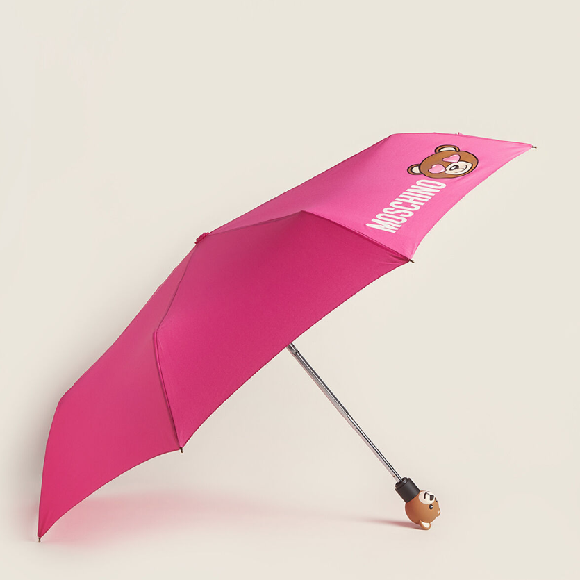 Moschino Toy in Love Umbrella 小熊印花雨伞