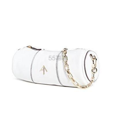 MANU Atelier 白色迷你款圆筒包