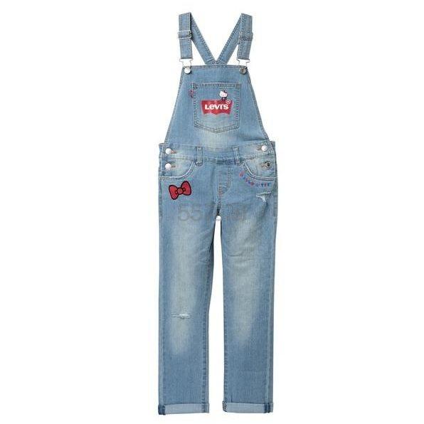 Levis Hello Kitty 牛仔背带裤 .97(约264元) - 海淘优惠海淘折扣|55海淘网