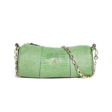 MANU Atelier Cylinder 绿色圆筒包