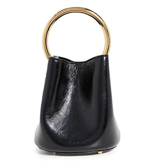Marni Pannier Bucket Bag 黑色水桶包
