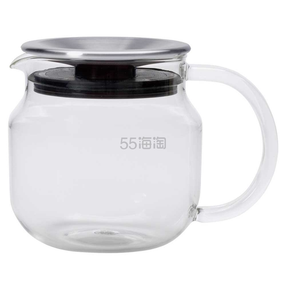 【中亚Prime会员】Kinto One-Touch系列 玻璃茶壶 带滤网 450ml 到手价140元 - 海淘优惠海淘折扣|55海淘网