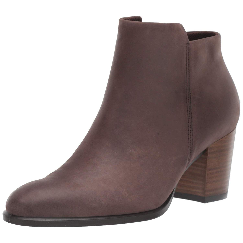 ECCO 爱步 Shape 55型塑系列 女士磨砂牛皮短靴