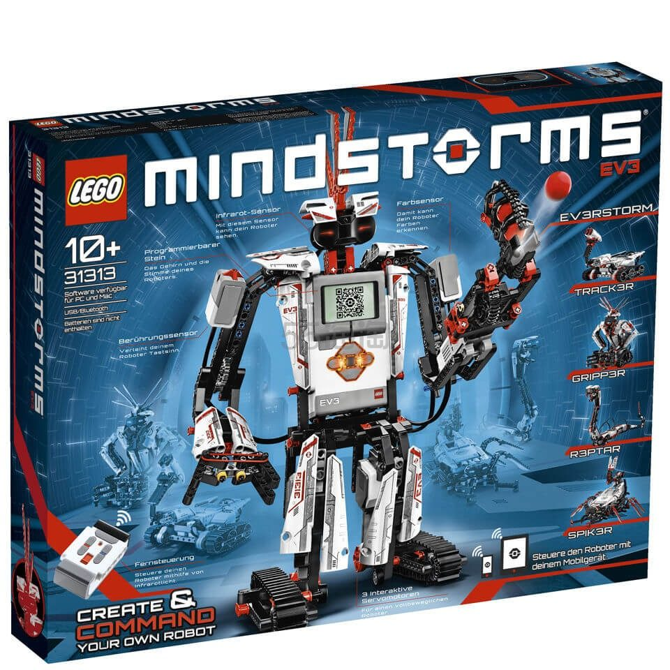 LEGO 乐高 科技系列 MINDSTORMS EV3第三代机器人 (31313) £199.99(约1,821元) - 海淘优惠海淘折扣|55海淘网