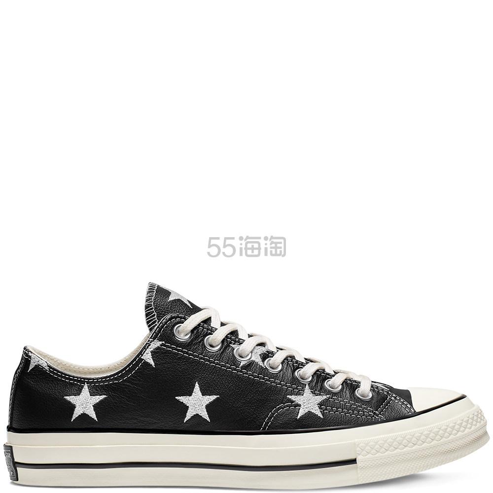 Converse 匡威 Chuck 70 黑色星星低帮鞋