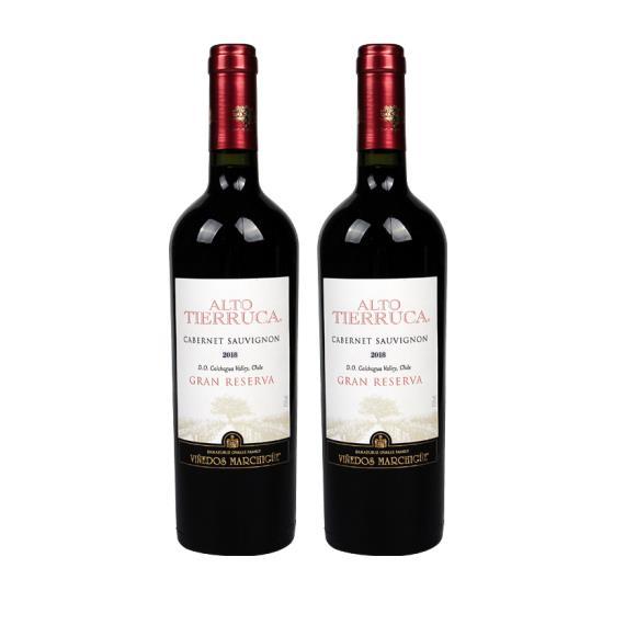 玛琪古 赤霞珠红葡萄酒 750ml*2瓶