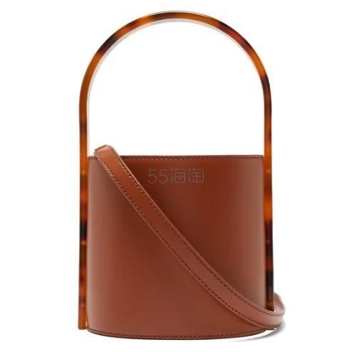 STAUD Bisset 棕色水桶包 €120(约916元) - 海淘优惠海淘折扣|55海淘网