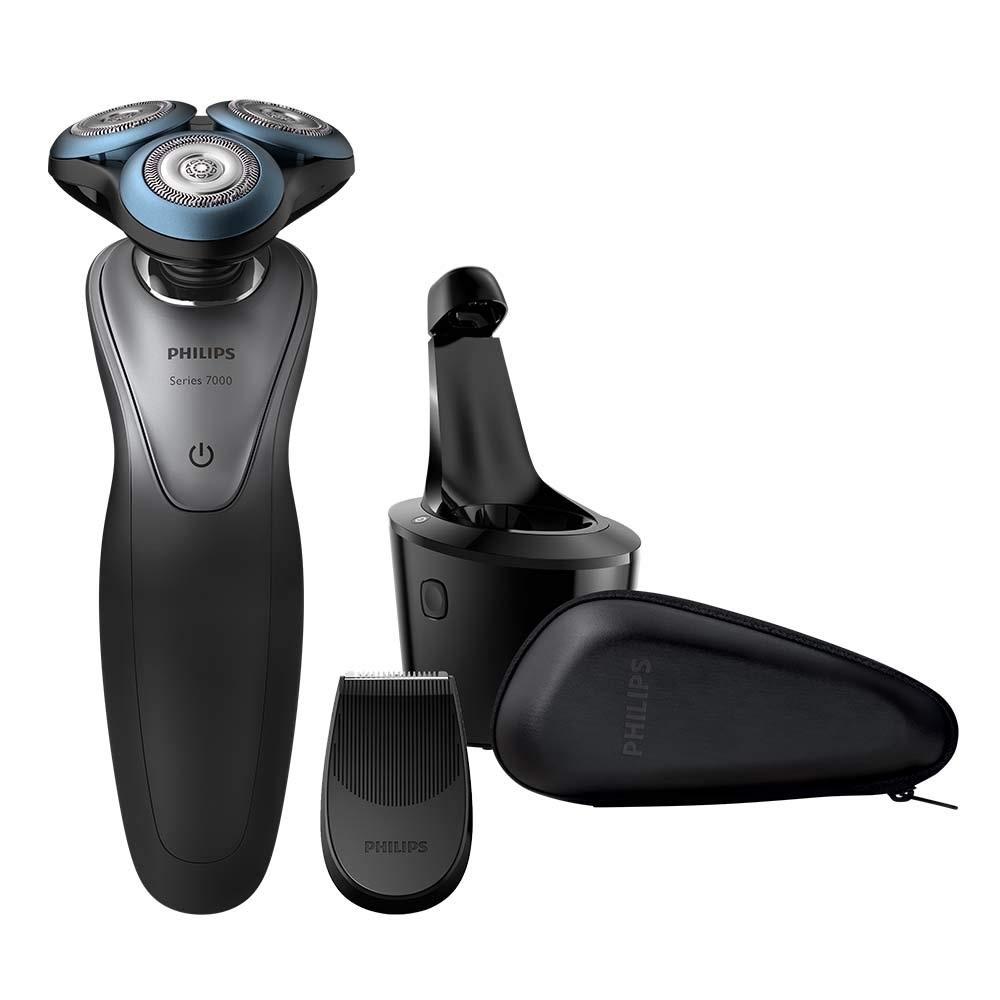 Philips 飞利浦 S7970/26 智能干湿两用三刀头电动剃须刀