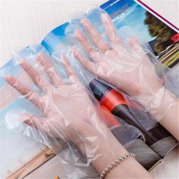 加厚塑料PE一次性手套 1000只