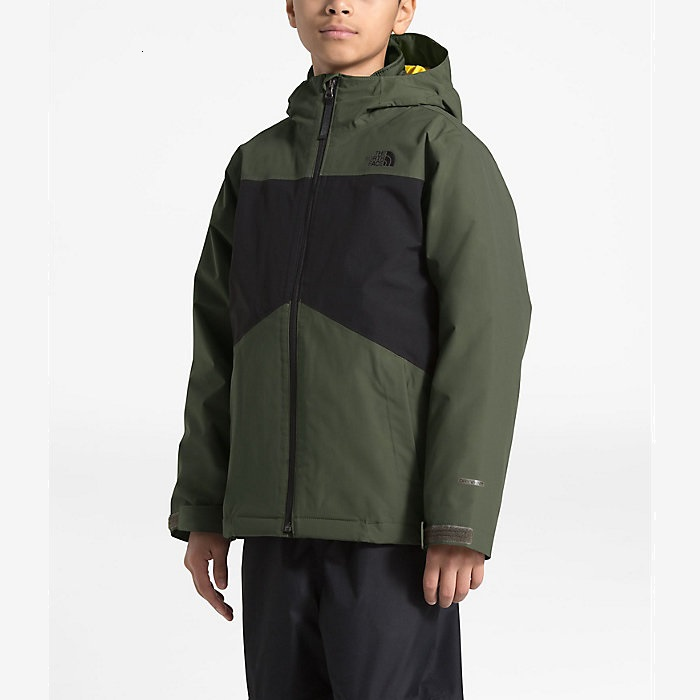 The North Face 北面 Clement Triclimate 男孩夹克外套