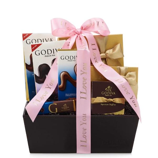 Godiva 歌帝梵 巧克力庆祝篮