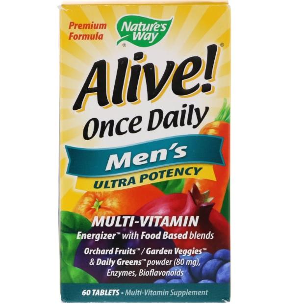 Nature's Way 男性每日综合维生素 60粒