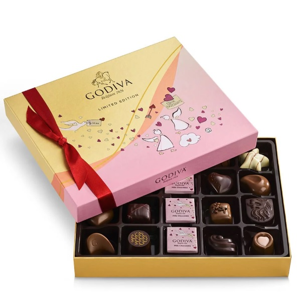 Godiva 歌帝梵 情人节什锦巧克力礼品盒 20颗