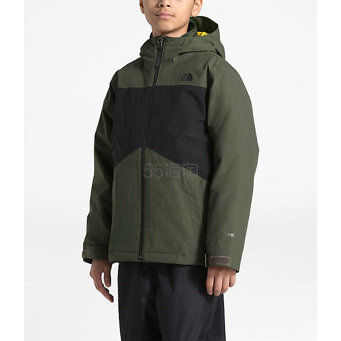 The North Face 北面 Clement Triclimate 男孩夹克外套 .67(约603元) - 海淘优惠海淘折扣|55海淘网