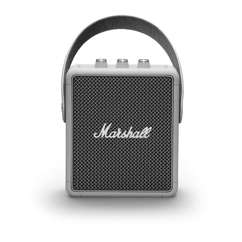 Marshall Stockwell II 便携式蓝牙音箱 灰色