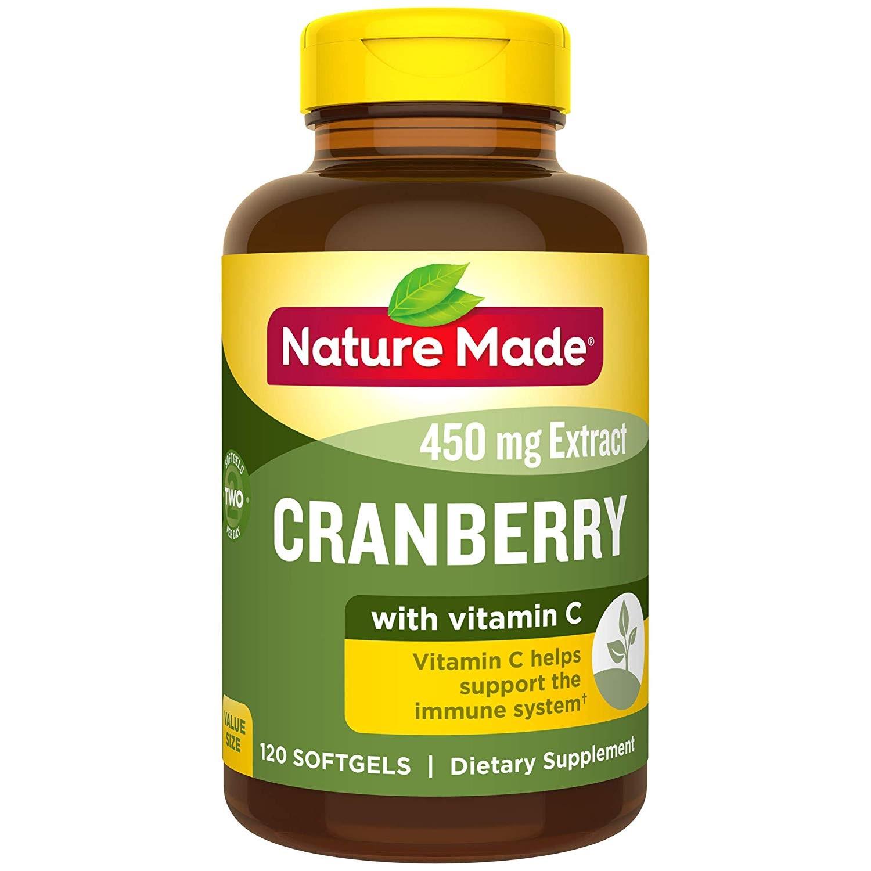 买2付1!Nature Made 天维美 蔓越莓+VC软胶囊 120粒