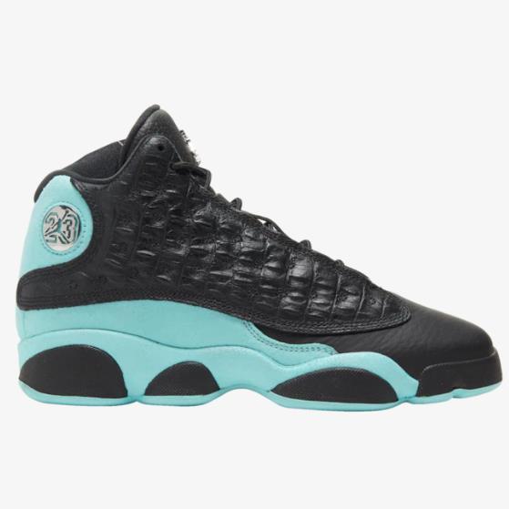 乔丹 Air Jordan Retro 13 大童款篮球鞋 薄荷绿