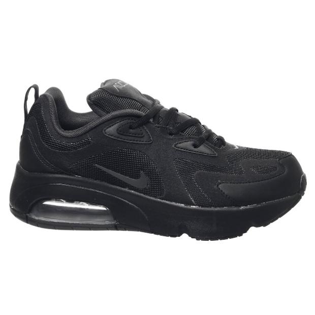 Nike 耐克 Air Max 200 Gs 全黑运动鞋