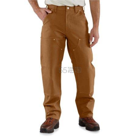 Carhartt 男士棕色工装裤