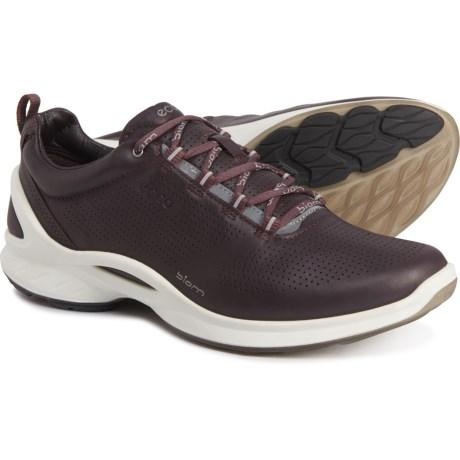 ECCO 女士皮质跑鞋