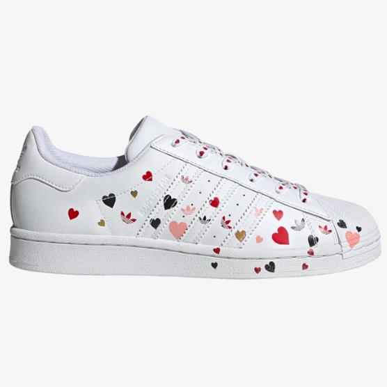 adidas Originals 三叶草 Superstar 女子板鞋 情人节限定