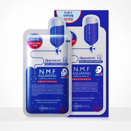 MEDIHEAL 美迪惠尔 NMF针剂水库面膜 10片*5件