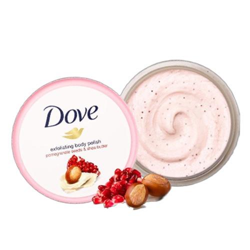 2件75折!Dove 多芬 冰激凌身体磨砂膏 石榴籽和乳木果味 298g*2件