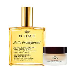 Nuxe 欧树 护肤精油+唇膏套组