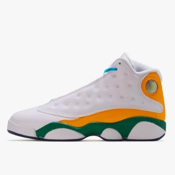 乔丹 Air Jordan Retro 13 中童款篮球鞋 橙黄鸳鸯