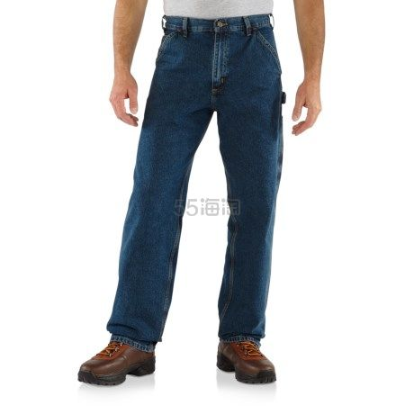 Carhartt 男士宽松工装裤