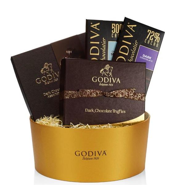 Godiva 歌帝梵 黑巧克力礼品盒
