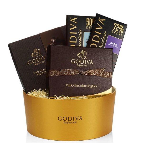 Godiva 歌帝梵 黑巧克力礼品盒 (约411元) - 海淘优惠海淘折扣|55海淘网