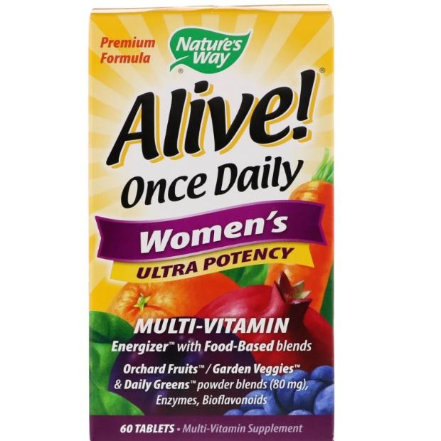 Nature's Way Alive! 女性每日综合维生素 60粒
