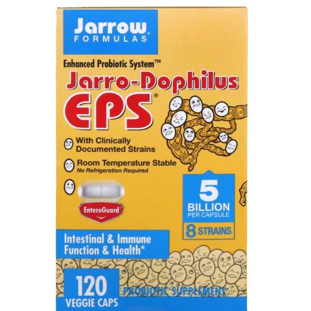 Jarrow Formulas 益生菌片 EPS 120粒