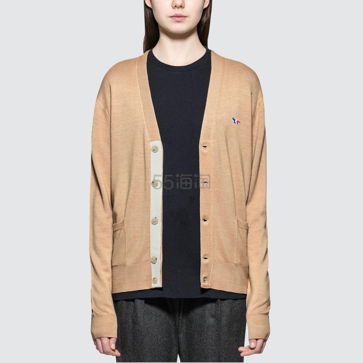 MAISON KITSUNE Tricolor Fox 开衫 6(约1,345元) - 海淘优惠海淘折扣|55海淘网