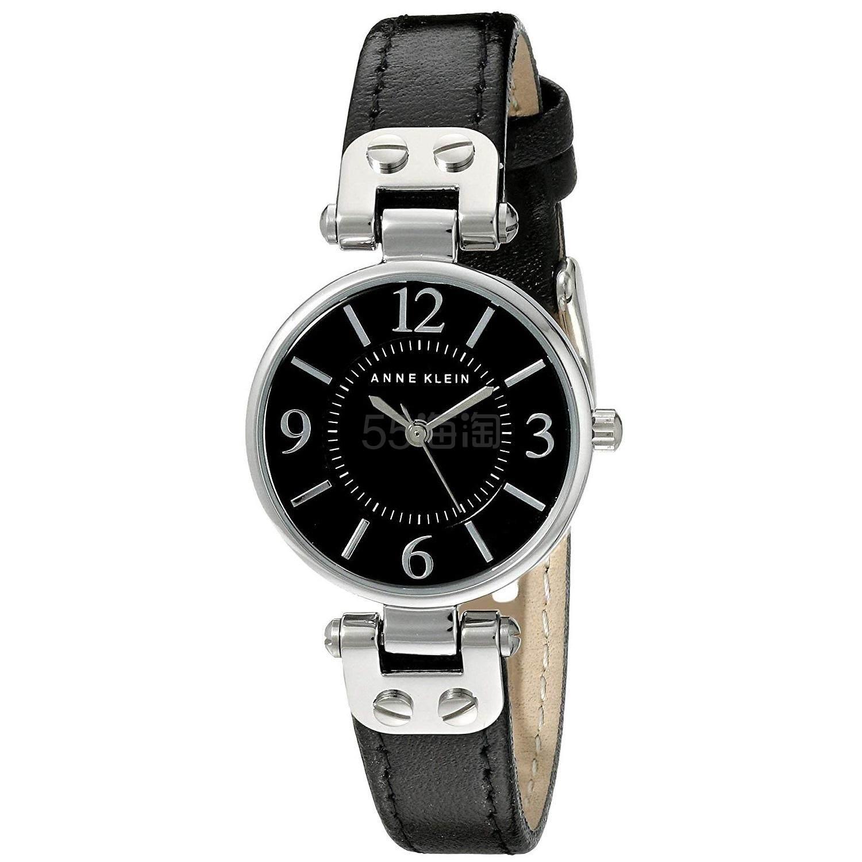 好价!【中亚Prime会员】Anne Klein 安妮克莱因 10/9443BKBK 女士时装腕表