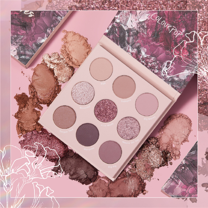 Colourpop:Ride With the Mauve 系列上架售卖