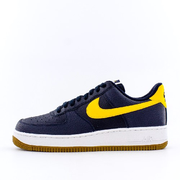 "AIR 耐克 FORCE 1 LOW ""MICHIGAN""黑曜石配色"