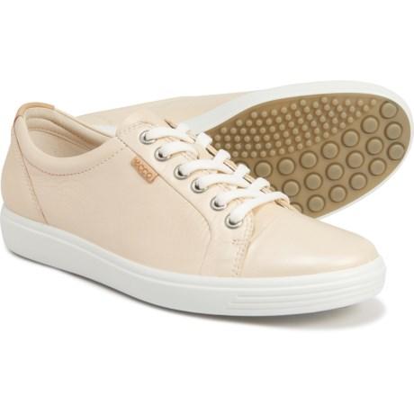 ECCO Soft 7 女士皮质休闲运动鞋
