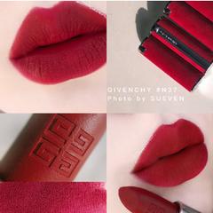 N37有货!Givenchy纪梵希2019限定红丝绒口红