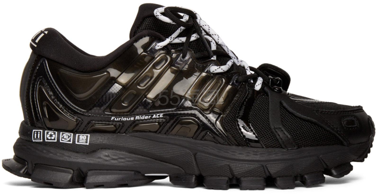 Li-Ning 李宁 Black Furious Rider Ace 1.5 Sneakers 男士运动跑鞋 纯黑走秀款 0(约1,266元) - 海淘优惠海淘折扣|55海淘网