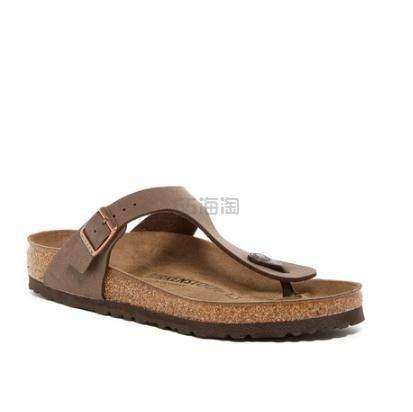 Birkenstock Gizeh Birko-Flor 真皮凉鞋 .96(约562元) - 海淘优惠海淘折扣|55海淘网